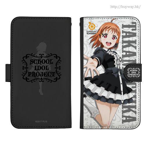 LoveLive! Sunshine!! 「高海千歌」138mm 哥德蘿莉 Ver. 筆記本型手機套 (iPhone6/7/8) Chika Takami Book-style Smartphone Case Gothic Lolita Ver.138【Love Live! Sunshine!!】