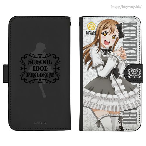 LoveLive! Sunshine!! 「國木田花丸」138mm 哥德蘿莉 Ver. 筆記本型手機套 (iPhone6/7/8) Hanamaru Kunikida Book-style Smartphone Case Gothic Lolita Ver.138【Love Live! Sunshine!!】