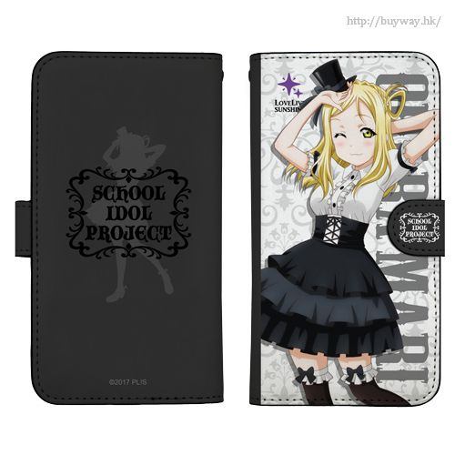 LoveLive! Sunshine!! 「小原鞠莉」158mm 哥德蘿莉 Ver. 筆記本型手機套 (iPhone6plus/7plus/8plus) Mari Ohara Book-style Smartphone Case Gothic Lolita Ver.158【Love Live! Sunshine!!】
