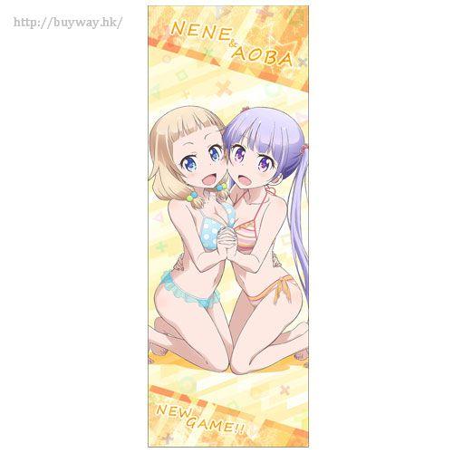 New Game! 「涼風青葉 + 櫻寧寧」運動毛巾 Aoba & Nene Sports Towel【New Game!】