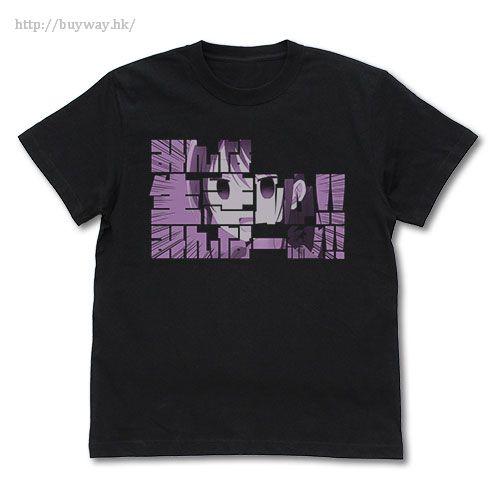 漫畫女孩 (加大)「色川琉姬」黑色 T-Shirt Ruki's Minna Ikihaji T-Shirt / BLACK - XL【Comic Girls】