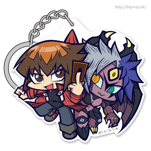 遊戲王 「遊城十代 + ユベル」亞克力吊起匙扣 Jaden & Yubel Acrylic Pinched Keychain【Yu-Gi-Oh!】