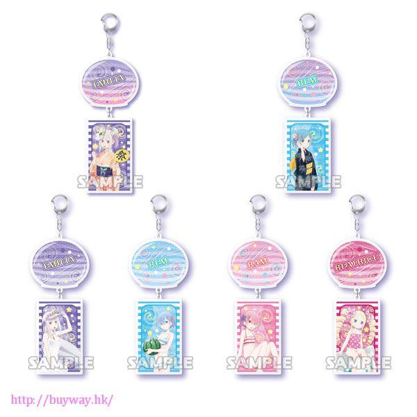 Re:從零開始的異世界生活 夏祭風鈴匙扣 (6 個入) Wind Chimes Yurayura Key Chain (6 Pieces)【Re:Zero】