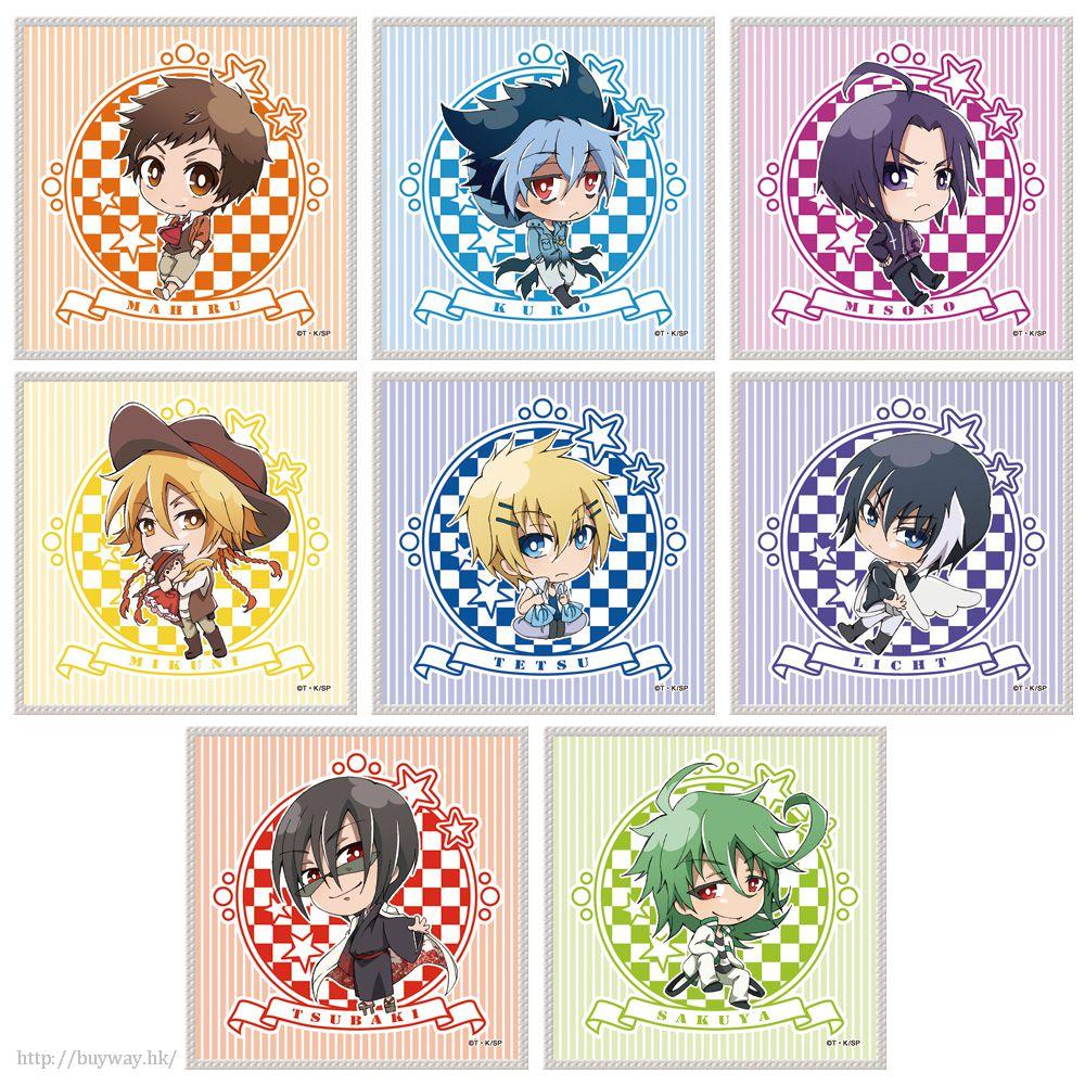 吸血鬼僕人 小手帕 (8 個入) TV Anime Petit Colle! Hand Towel (8 Pieces)【Servamp】