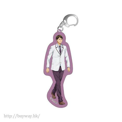 排球少年!! 「牛島若利」亞克力匙扣 Acrylic Key Chain D Ushijima【Haikyu!!】