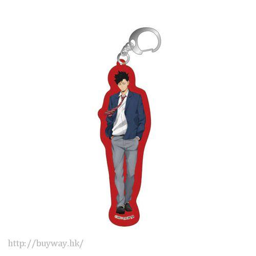 排球少年!! 「黑尾鐵朗 (鉄朗)」亞克力匙扣 Acrylic Key Chain L Kuroo【Haikyu!!】