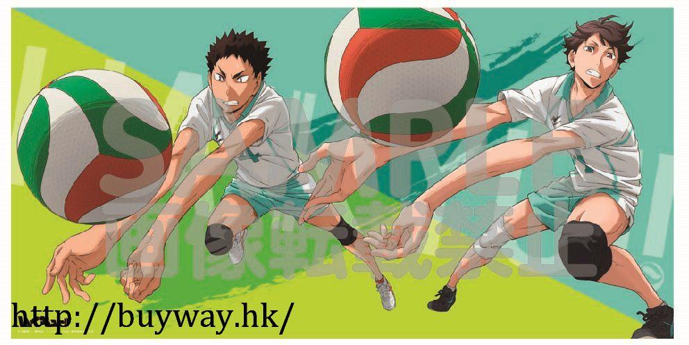 排球少年!! 「及川徹 + 岩泉一」大毛巾 Big Towel C Oikawa & Iwaizumi【Haikyu!!】
