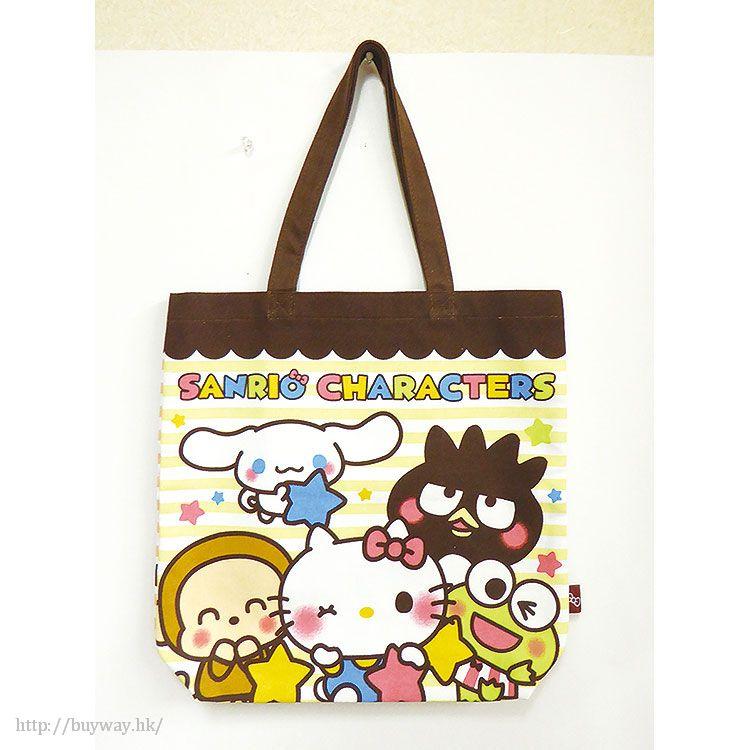 Sanrio系列 環保袋 A 款 Yurukawa Odekake Tote Bag Border【Sanrio】
