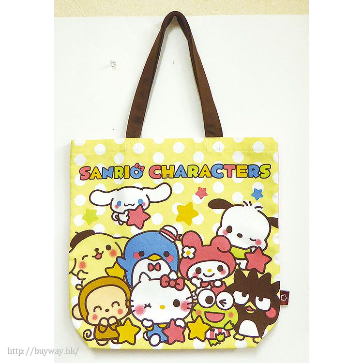 Sanrio 系列 環保袋 B 款 Yurukawa Odekake Tote Bag Dot【Sanrio】