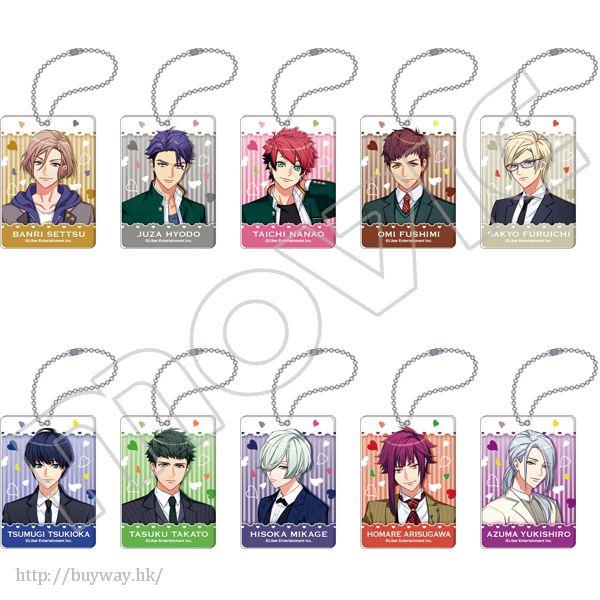 A3! 秋組 & 冬組 亞克力匙扣 制服 Ver. (10 枚入) Acrylic Key Holder Autumn & Winter Group (10 Pieces)【A3!】