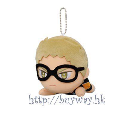 排球少年!! 「月島螢」趴趴公仔掛飾 Vol.4 Plush Doll Vol.4 Kei Tsukishima【Haikyu!!】