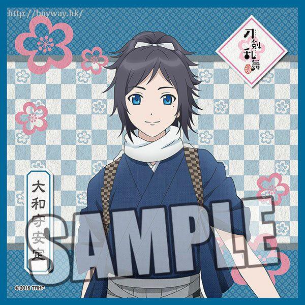刀劍亂舞-ONLINE- 「大和守安定」小手帕 Microfiber Mini Towel Yamatonokami Yasusada【Touken Ranbu -ONLINE-】