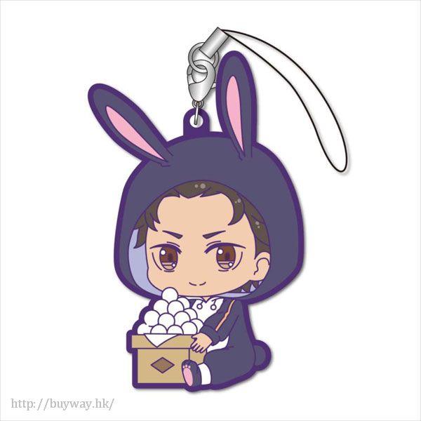 Re:從零開始的異世界生活 「菜月昴」月見 Ver. 橡膠掛飾 GyuGyutto Rubber Strap Tsukimi Ver. Subaru【Re:Zero】