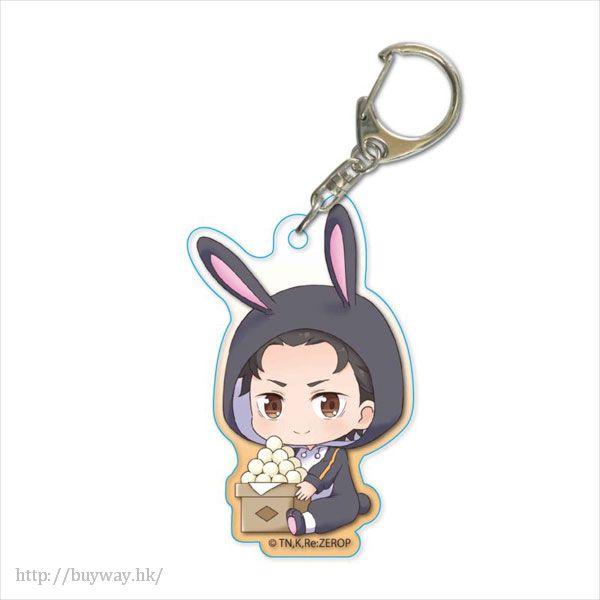Re:從零開始的異世界生活 「菜月昴」月見 Ver. 亞克力匙扣 GyuGyutto Acrylic Key Chain Tsukimi Ver. Subaru【Re:Zero】