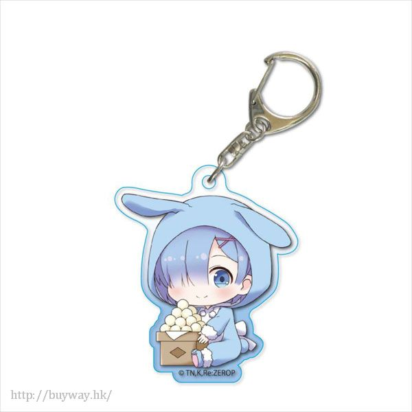 Re:從零開始的異世界生活 「雷姆」月見 Ver. 亞克力匙扣 GyuGyutto Acrylic Key Chain Tsukimi Ver. Rem【Re:Zero】
