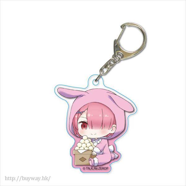 Re:從零開始的異世界生活 「拉姆」月見 Ver. 亞克力匙扣 GyuGyutto Acrylic Key Chain Tsukimi Ver. Ram【Re:Zero】