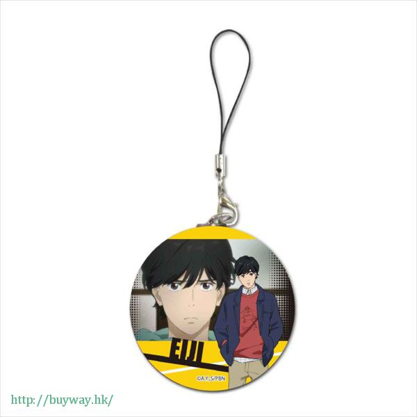 Banana Fish 「奧村英二」圓掛飾 Buriki Strap Eiji Okumura【Banana Fish】