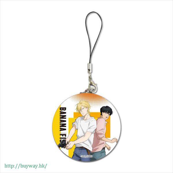 Banana Fish 「亞修・林克斯 + 奧村英二」B 款圓掛飾 Buriki Strap Ash & Eiji B【Banana Fish】