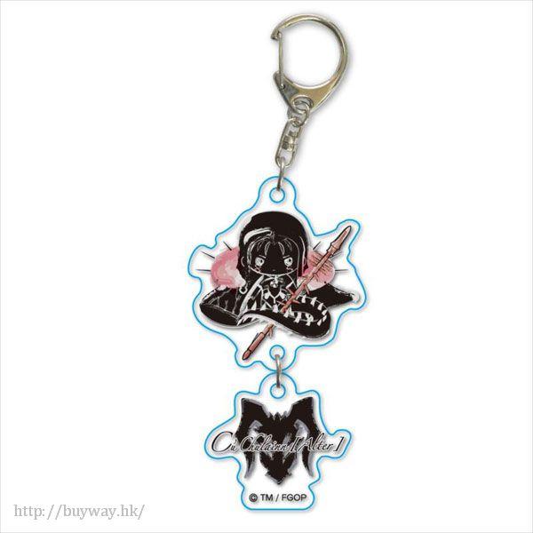 Fate 系列 「Berserker (Cu Chulainn)」(Alter) Design by Sanrio 2連 匙扣 Design produced by Sanrio Twin Key Chain Cu Chulainn (Alter)【Fate Series】