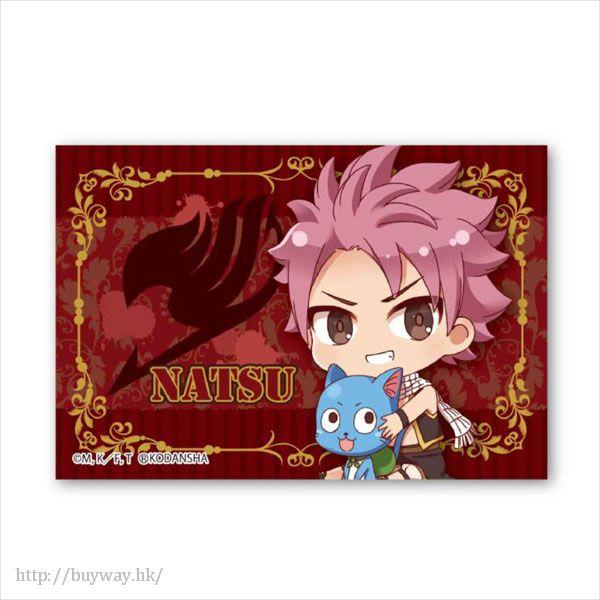 妖精的尾巴 「納茲」BIG 方形徽章 Gyugyutto BIG Square Can Badge Natsu Dragneel【FAIRY TAIL】