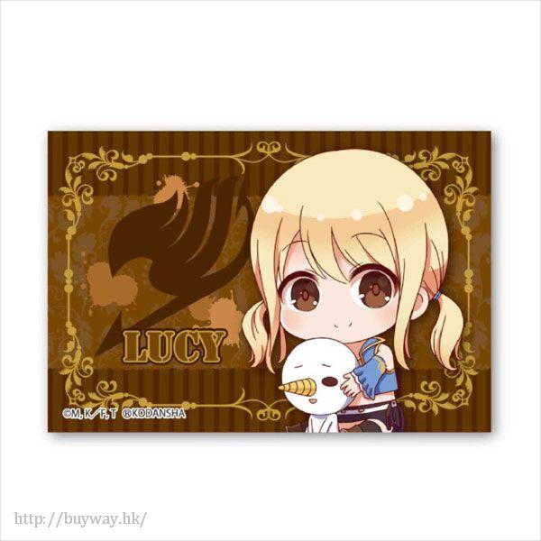 妖精的尾巴 「露西」BIG 方形徽章 Gyugyutto BIG Square Can Badge Lucy Heartfilia【FAIRY TAIL】