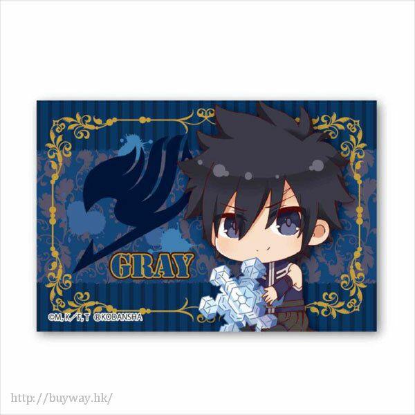 妖精的尾巴 「格雷」BIG 方形徽章 Gyugyutto BIG Square Can Badge Gray Fullbuster【FAIRY TAIL】