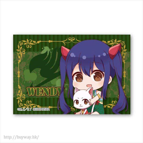妖精的尾巴 「溫蒂」BIG 方形徽章 Gyugyutto BIG Square Can Badge Wendy Marvell【FAIRY TAIL】