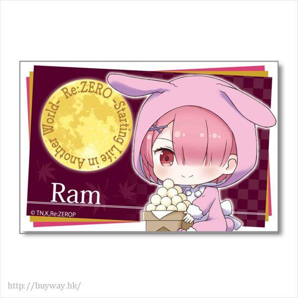 Re:從零開始的異世界生活 「拉姆」月見 Ver. BIG 方形徽章 GyuGyutto Big Square Can Badge Tsukimi Ver. Ram【Re:Zero】
