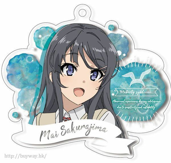 青春豬頭少年系列 「櫻島麻衣」亞克力匙扣 Acrylic Key Chain Sakurajima Mai【Seishun Buta Yaro】