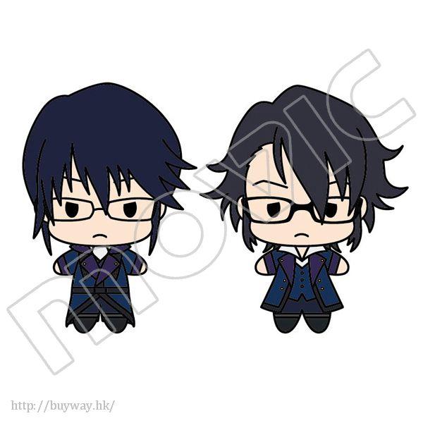 K 「宗像禮司 + 伏見猿比古」公仔匙扣 Plush Key Chain Set Scepter 4 Set 2 Munakata Reishi & Fushimi Saruhiko【K】