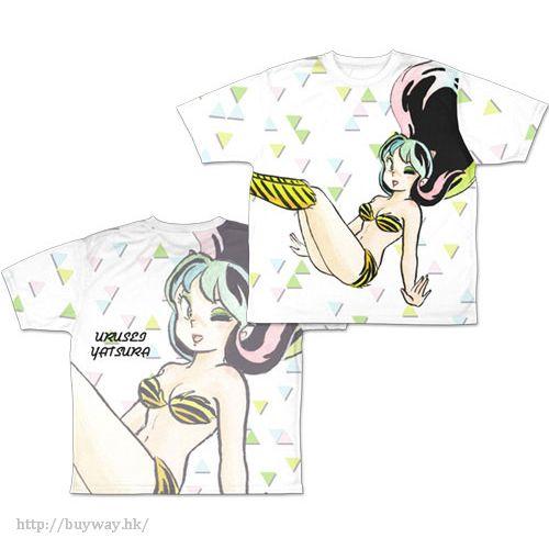 山T女福星 (加大)「阿琳」T-Shirt Lum Double-sided Full Graphic T-Shirt /XL【Urusei Yatsura】