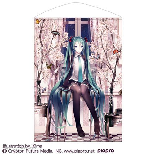 VOCALOID 系列 「初音未來」櫻花 B2 掛布 Hatsune Miku Cherry Blossoms B2 Wall Scroll【VOCALOID Series】