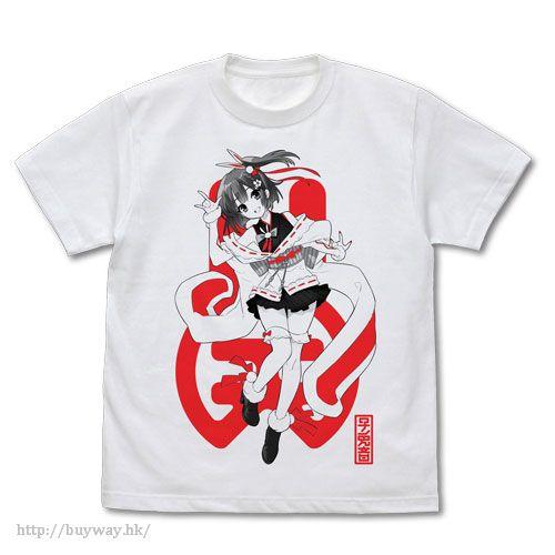 虛擬偶像 (加大)「天神子兎音」白色 T-Shirt T-Shirt /WHITE-XL Kotone Tenjin【Virtual YouTuber】