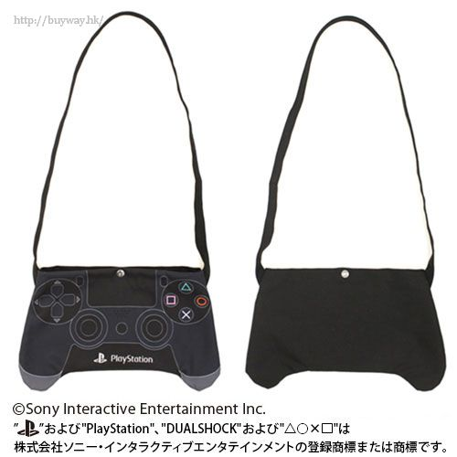 """PlayStation 「DUALSHOCK」黑色袋子 Musette Bag """"DUALSHOCK (R) 4""""【PlayStation】"""