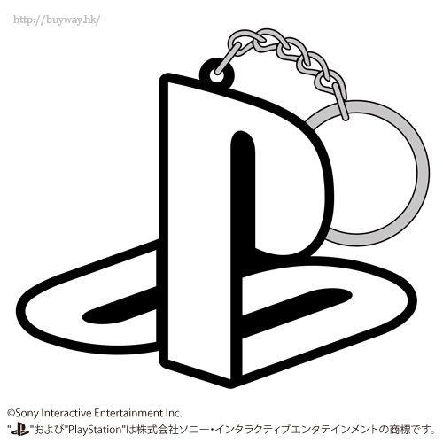 "PlayStation 「PlayStation」橡膠 匙扣 Rubber Keychain ""PlayStation Family Mark""【PlayStation】"