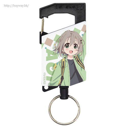 前進吧!登山少女 「雪村葵」伸縮匙扣 Aoi Full Color Reel Keychain【Yama no Susume】