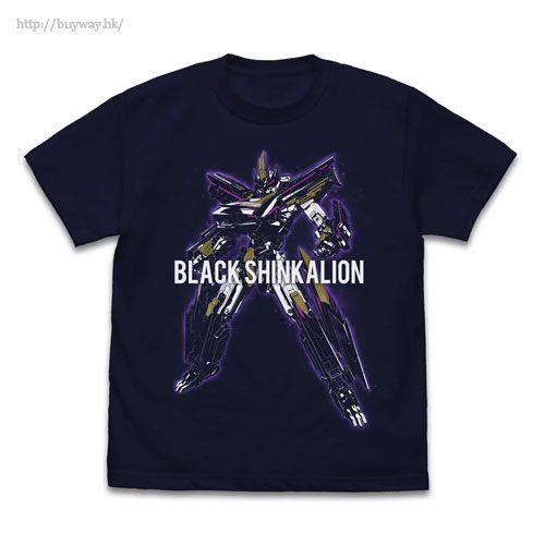 新幹線變形機器人Shinkalion (加大)「新幹線」深藍色 T-Shirt Black Shinkalion T-Shirt /NAVY-XL【Shinkansen Henkei Robo Shinkalion】