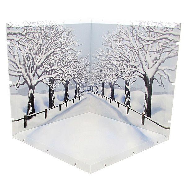 黏土人場景 Dioramansion150 櫻花樹 (冬) Dioramansion 150 Sakuranamiki (Winter)【Nendoroid Playset】