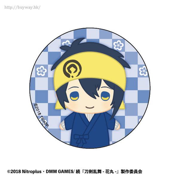 刀劍亂舞-ONLINE- 「三日月宗近」指偶造型 收藏徽章 Vol.3 Finger Puppet Series Design Can Badge Vol. 3 Mikazuki Munechika【Touken Ranbu -ONLINE-】