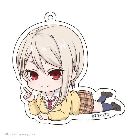 食戟之靈 「薙切愛麗絲」躺下亞克力匙扣 Gororin Acrylic Key Chain 6 Nakiri Alice【Food Wars: Shokugeki no Soma】