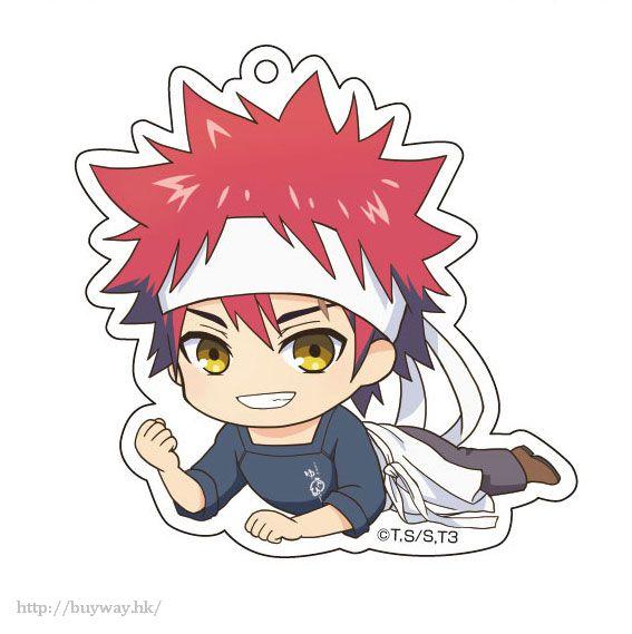 食戟之靈 「幸平創真」躺下亞克力匙扣 Gororin Acrylic Key Chain 1 Yukihira Soma【Food Wars: Shokugeki no Soma】