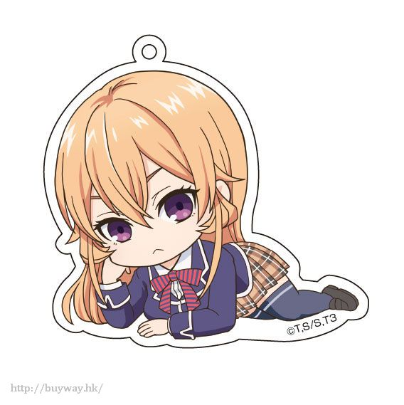 食戟之靈 「薙切繪理奈」躺下亞克力匙扣 Gororin Acrylic Key Chain 2 Nakiri Erina【Food Wars: Shokugeki no Soma】