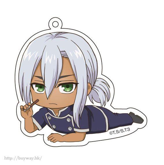 食戟之靈 「葉山亮」躺下亞克力匙扣 Gororin Acrylic Key Chain 4 Hayama Akira【Food Wars: Shokugeki no Soma】