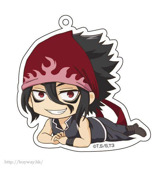 食戟之靈 「黑木場遼」躺下亞克力匙扣 Gororin Acrylic Key Chain 5 Kurokiba Ryo【Food Wars: Shokugeki no Soma】