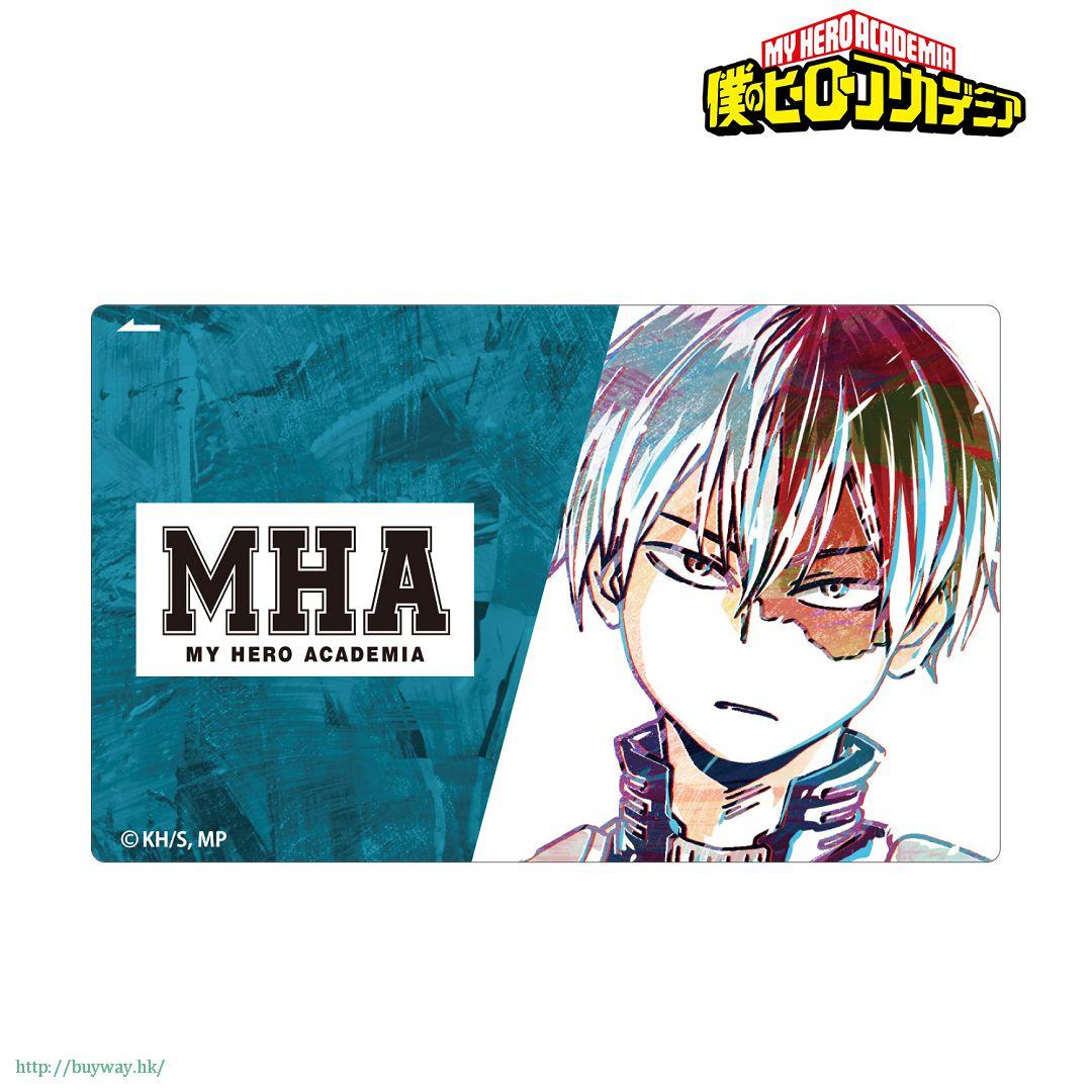 我的英雄學院 「轟焦凍」Ani-Art IC 咭貼紙 Ani-Art Card Sticker Todoroki Shoto【My Hero Academia】