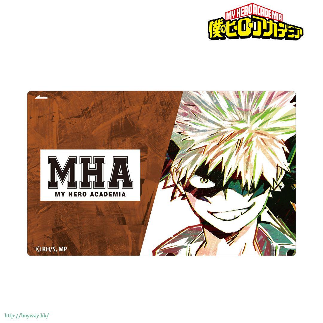 我的英雄學院 「爆豪勝己」Ani-Art IC 咭貼紙 Ani-Art Card Sticker Bakugo Katsuki【My Hero Academia】