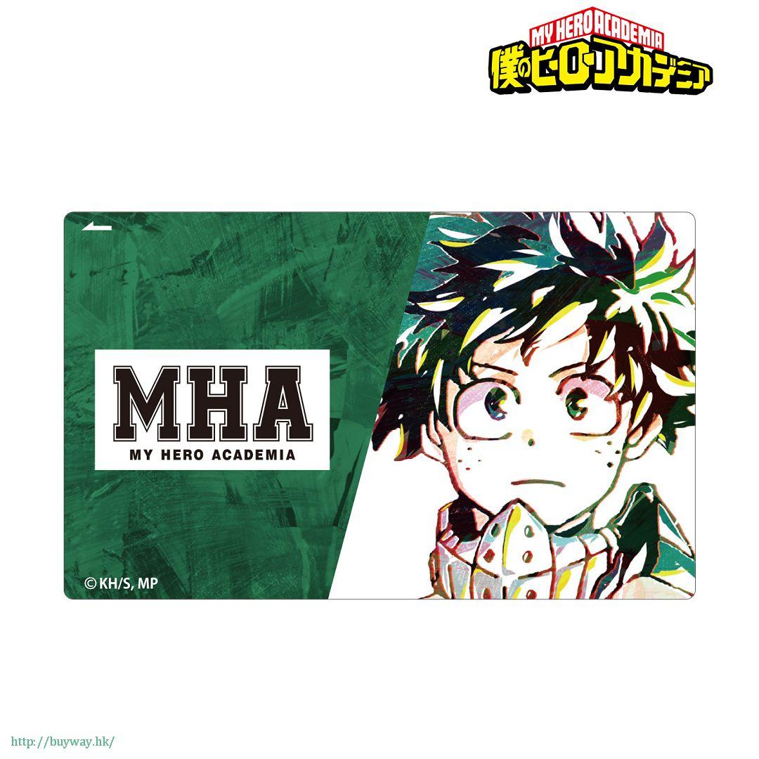 我的英雄學院 「綠谷出久」Ani-Art IC 咭貼紙 Ani-Art Card Sticker Midoriya Izuku【My Hero Academia】