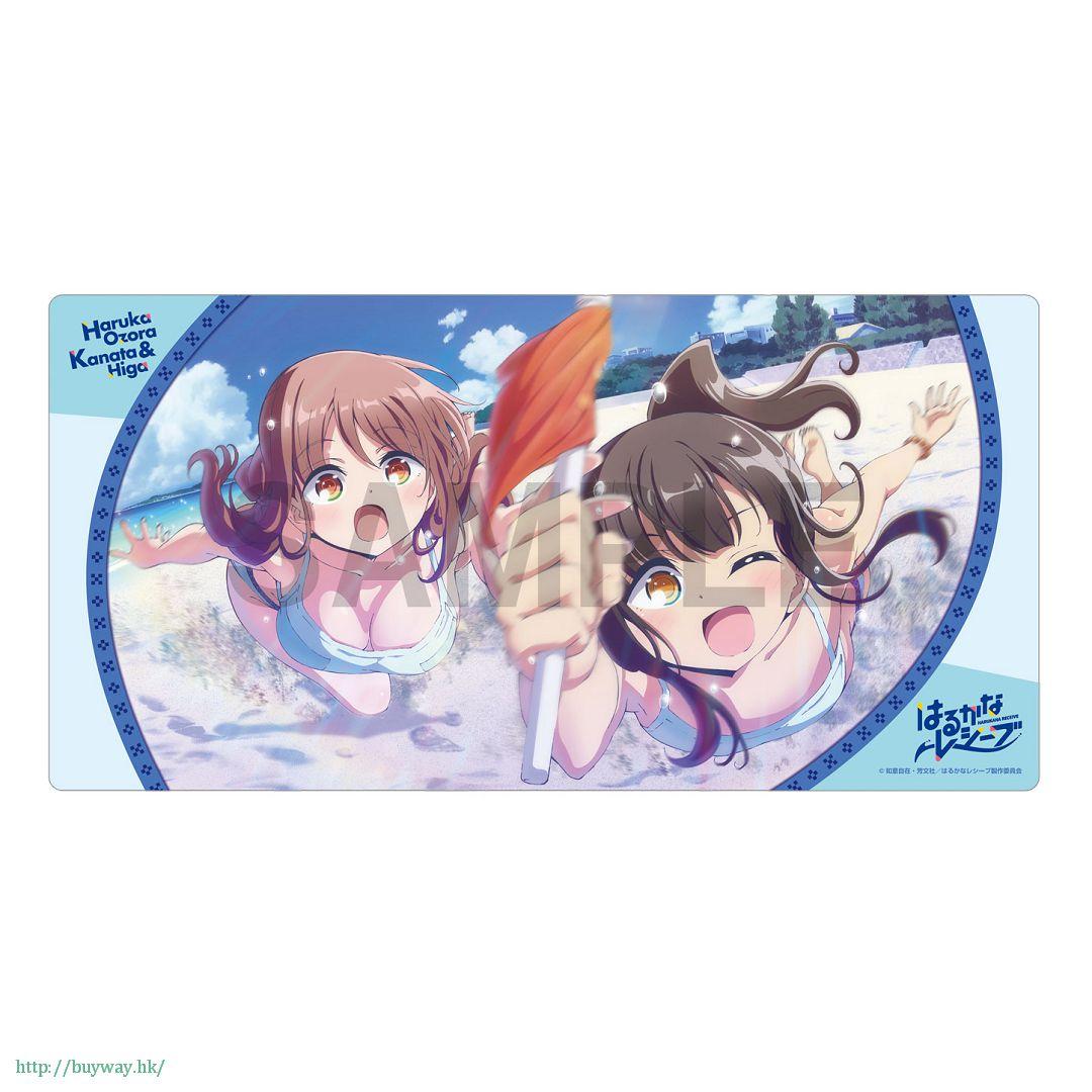 遙的接球 「大空遙 + 比嘉彼方」通用遊戲墊 Rubber Play Mat Collection Haruka & Kanata【Harukana Receive】