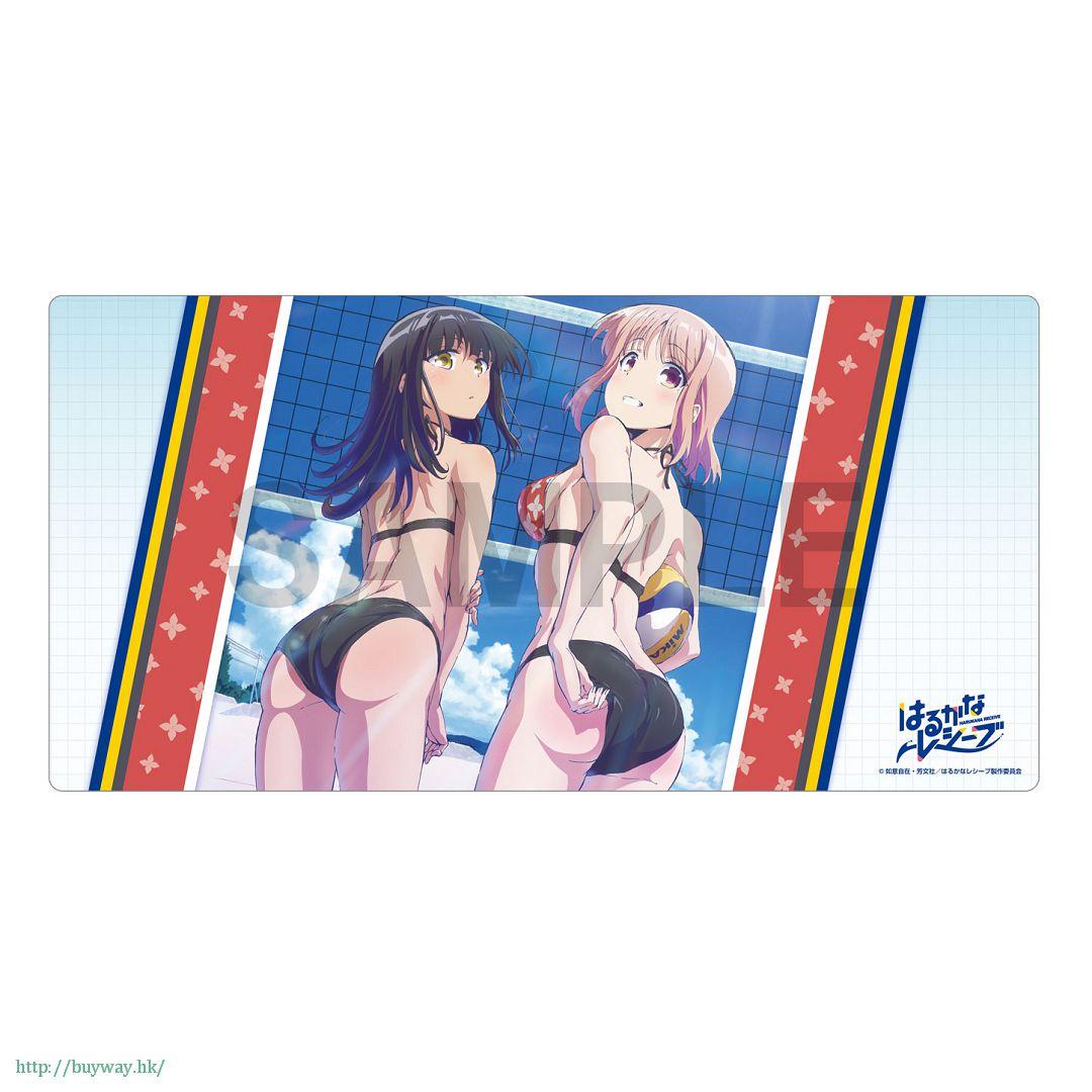遙的接球 「遠井成美 + 立花彩紗」通用遊戲墊 Rubber Play Mat Collection Narumi & Ayasa【Harukana Receive】