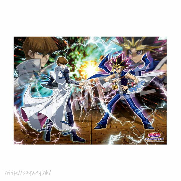 遊戲王 「武藤遊戲 + 海馬瀨人」怪獸之決鬥 B2 布面海報 B2 Cloth Poster Duel Monsters【Yu-Gi-Oh!】